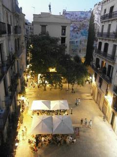 Plaça de les Olles - Night View