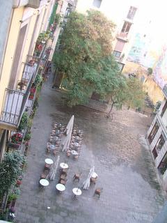 View of Plaça de les Olles - Daytime