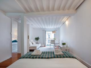 Design apt in historic centre (Baixa) with balcony, Lisbon