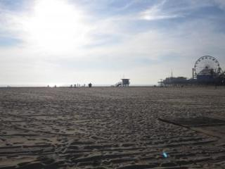 Santa Monica on the Beach!