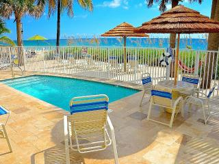 By The Sea Vacation Villas LLC ' Seaward D' Direct Oceanfront + Htd Pool
