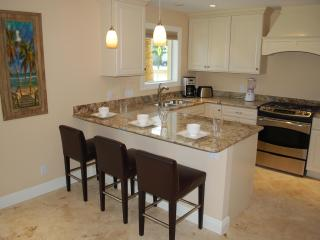 Beautiful Open Granite Kitchen w/Breakfast Counter For Three