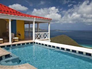 Sunny Side Up at Morningside Lane, Tortola - Ocean View, Amazing Sunset View, Belmont