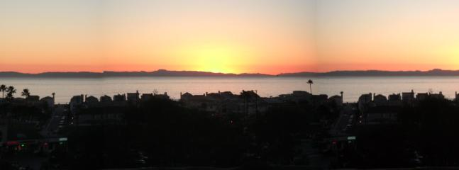 Newport Beach Sunset with Catalina Island off shore!