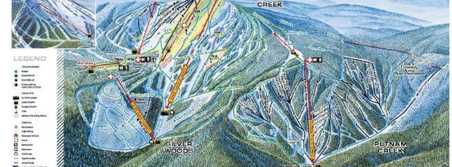 Silver Star Mountain Trail Map