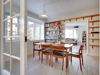 Large Copenhagen apartment with balcony at Noerrebro