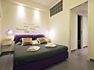 White Apt - bedroom
