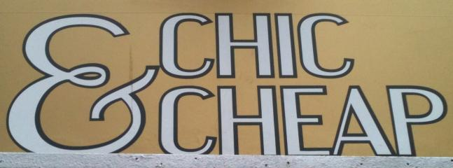 CHIC & CHEAP, our mission!