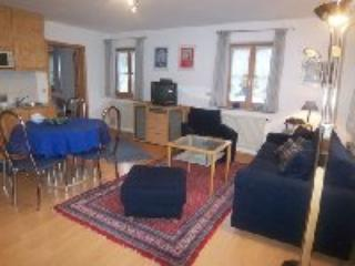 Vacation Apartment in Bad Heilbrunn - 538 sqft, swimming pool, nice terrace, modern furnishings (# 1218)