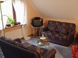 Vacation Apartment in Bad Bramstedt - 431 sqft, all amenities included, terrace with pond, velour carpet…