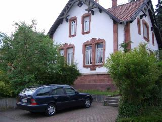 Vacation Apartment in Bad Bergzabern - 431 sqft, historic house, beautiful garden, great apartments…
