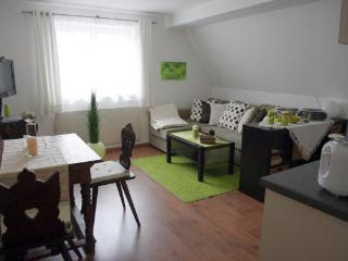 Vacation Apartment in Bad Windsheim - 409 sqft, SAT-TV, sauna usage, historic building (# 1068)