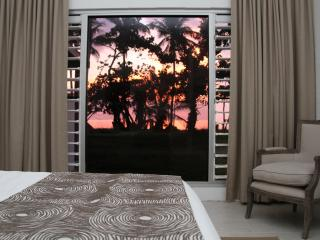 View from master bedroom at sunrise