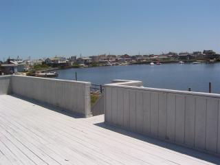 Waterfront Hamptons Beach House w/ Dock, Hot Tub, & Awesome Views, Walk to Beach, Westhampton Beach