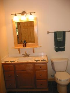 Upstairs Vanity