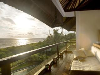 The Shore Villa. Beachfront Villa Vacation in Bali, Breathtaking Sunsets.