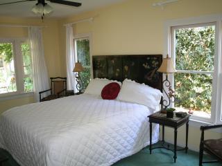 Master suite with garden views
