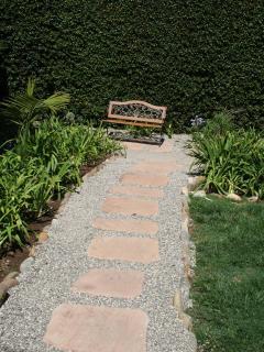Plenty of outdoor space to enjoy California sun