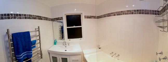 Newly renovated bathroom.
