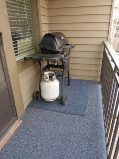 Upstairs Deck / Propane Grill