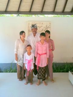 Gede and Family