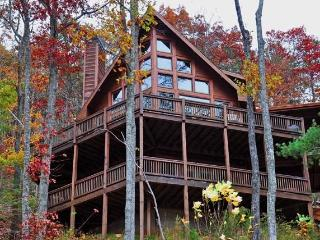 Spectacular Views! 3 BR Luxury Cabin-Aska Adv Area, Blue Ridge
