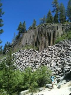 Local hike - Devils Postpile Monument