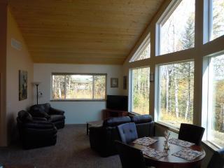 Open spacious living area