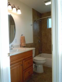 custom tiled bath