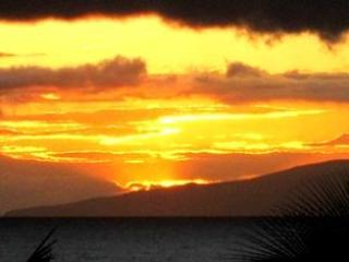 Typical sunset. Our Lanai faces west so this is your view.