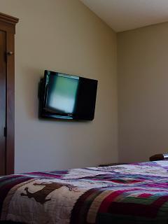 TV in each of the bedrooms
