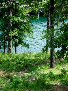 From our yard to Table Rock Lake