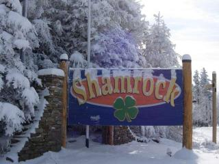 Shamrock is located just north of the Village, across from Cupp Run.