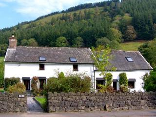 DAFARN NEWYDD, romantic, character holiday cottage, with a garden in Dinas