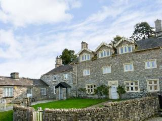 MEATHOP HALL, pet friendly, character holiday cottage, with a garden in