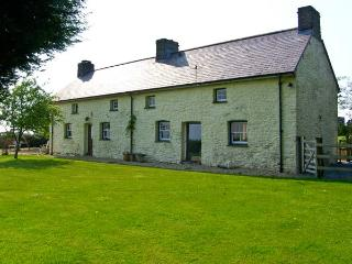 PENLLWYN COTTAGE, pet friendly, luxury holiday cottage, with a garden in