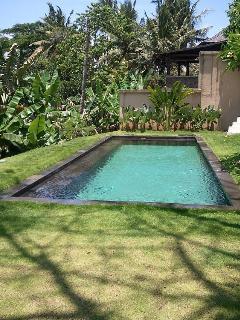 Pool, 9 x 3.5m, natural stone