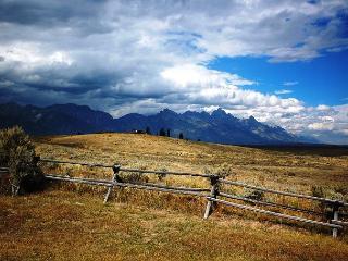 Bordering Grand Teton National Park, Jackson