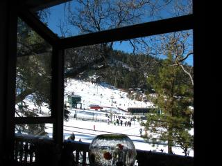 View of slopes from kitchen window