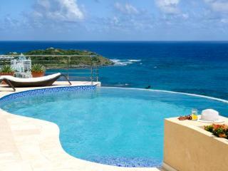 Luxury St. Maarten Villa overlooking Dawn Beach, Oyster Pond