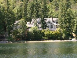 Swan Shores Lodge 200 ft. Lakefront on Swan Lake, Bigfork
