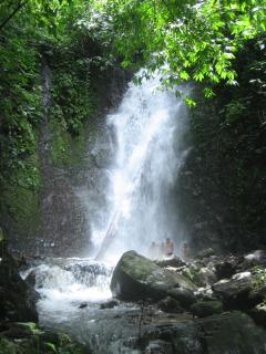 Jungle Nest Water Falls at Mareas