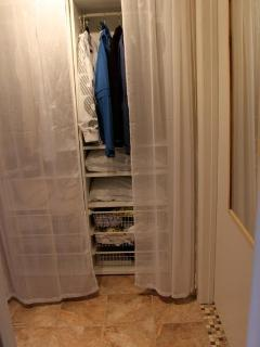 Organized Closet For Two