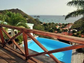 Well decorated, spacious villa with a nice view over Corossol bay WV VSM, São Bartolomeu
