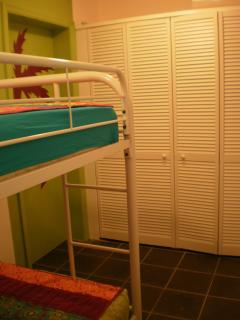Bedroom 2  - Two bunk beds for the kids