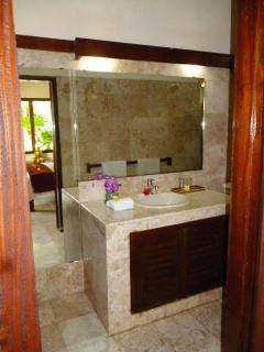 Clean, modern bathrooms