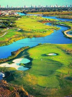 Lots of Golf Courses