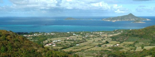 Breath taking Grenadines Island view