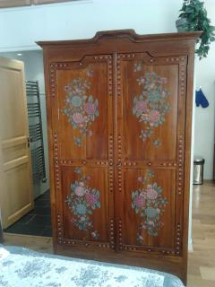 Old romantic cupboard