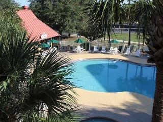 Inexpensive Studio, 1 mile to Disney, big flat screen TV and Wi-Fi